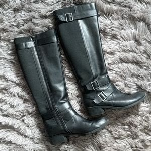 Kelly and Katie Blanche Black Riding Boots 7.5